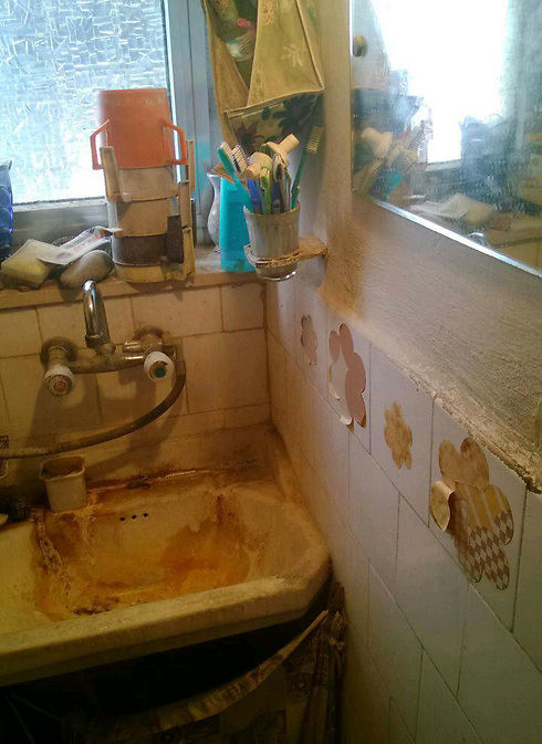 Appalling conditions at homes of Holocaust survivors (Photo: The Foundation for the Benefit of Holocaust Victims in Israel)