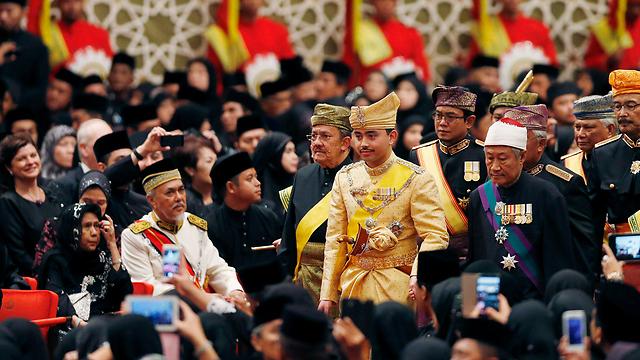 יורש העצר בטקס החתונה (צילום: רויטרס) (צילום: רויטרס)