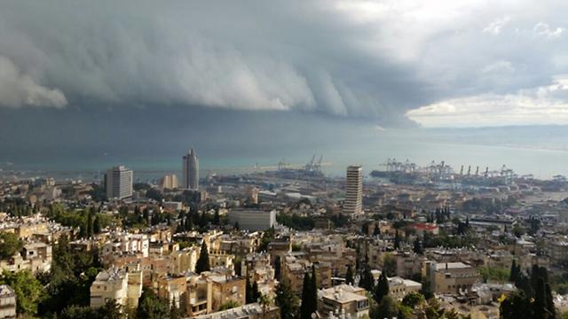מפרץ חיפה (צילום: מאיה סופר)