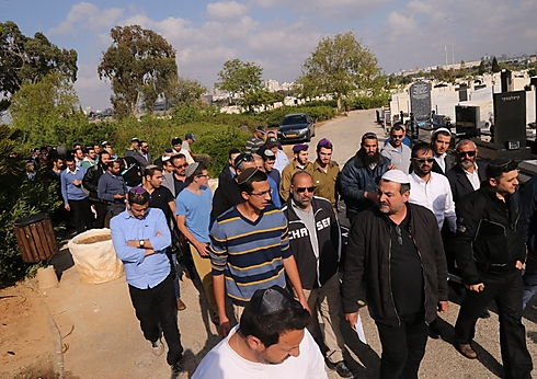 Hundreds attended Chaya's funeral (Photo: Motti Kimchi) (Photo: Motti Kimchi)