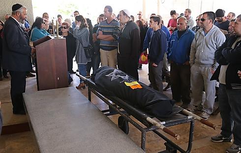The funeral for Chaya Gertman (Photo: Motti Kimchi) (Photo: Motti Kimchi)