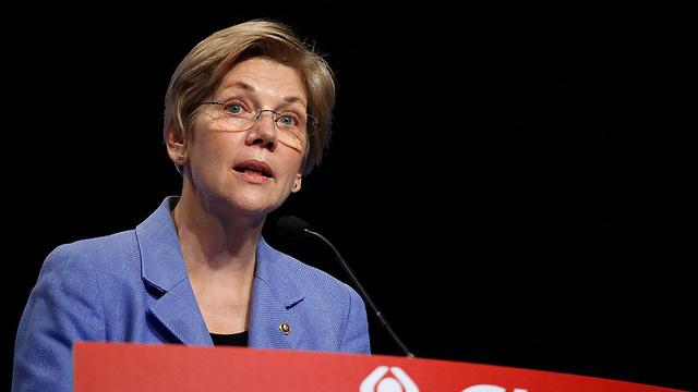 ממובילי ההתנגדות לאובמה במפלגה הדמוקרטית. הסנאטורית אליזבת וורן (צילום: רויטרס) (צילום: רויטרס)