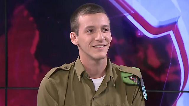 Sergeant Yonatan Handelsman discovered his family's Nazi secret in grade school (Photo: Avi Chai and Nir Cohen)