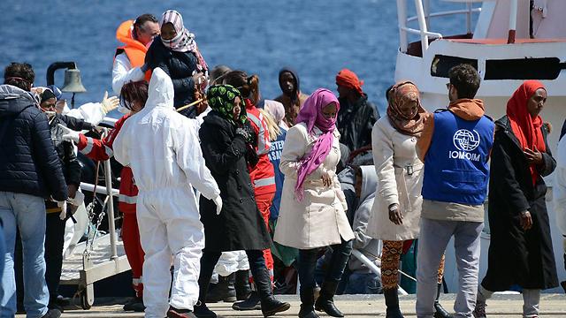 Migrants reach Italian shore (Archive photo: AFP)