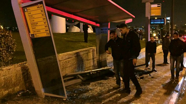 Site of attack (Photo: Rescue Services)