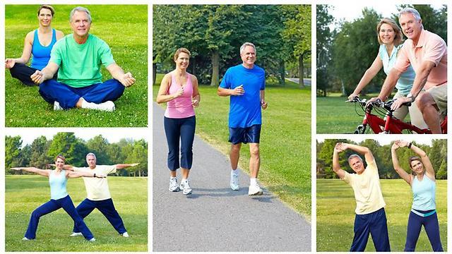 חשיבות עצומה לפעילות גופנית בגיל מבוגר. במיוחד להליכה. (צילום: shuttestock)