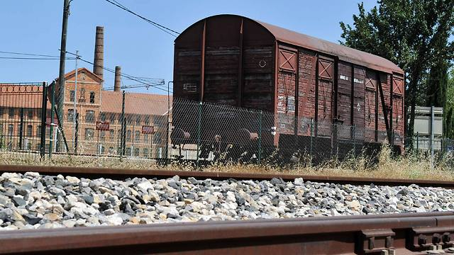 Train car in France used to deport Jews to concentration camps (Photo: AFP)