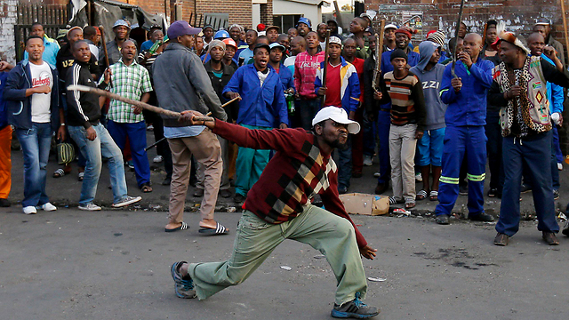 Riots in South Africa last week (Photo: Reuters) (Photo: Reuters)