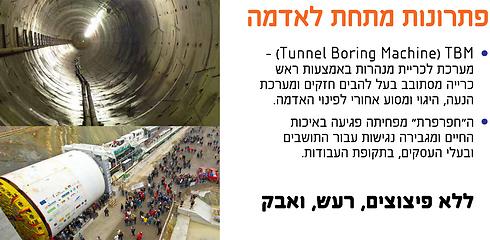 """כך זה ייעשה: TBM, ה""""חפרפרת"""" שתכרה את המנהרה ()"""