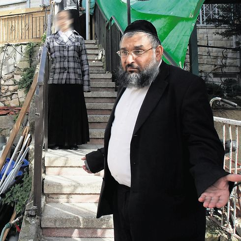 Aharon Ramati. Suspected of leading a cult. (Photo: Alex Kolomoisky)