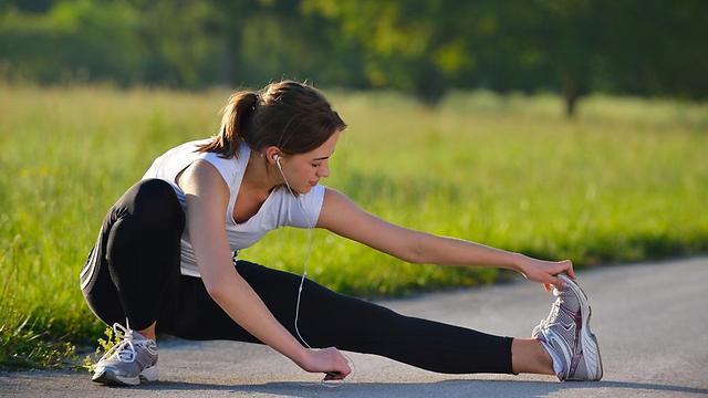 בריא גם לשינייים. פעילות גופנית (צילום: שאטרסטוק)