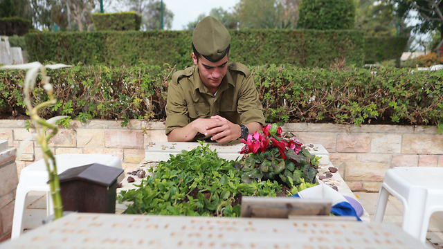 Israel remembers its fallen soldiers (Photo: Yaron Brenner)