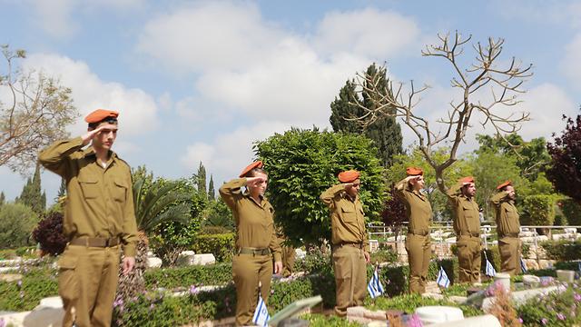 ארכיון. שלום חיילינו לפני שלום אזרחינו (צילום: ירון ברנר) (צילום: ירון ברנר)