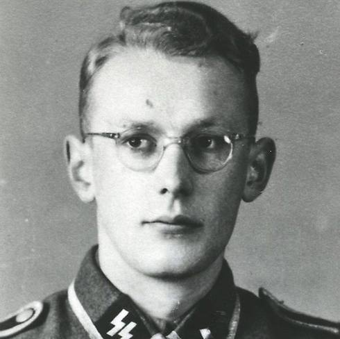 SS member and Auschwitz Guard Oskar Groening (Photo: EPA)