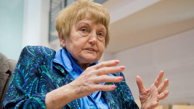 Auschwitz survivor and plaintiff Eva Kor at the trial (Photo: AFP)