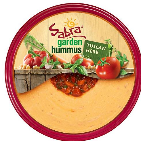 Sabra hummus. 'Simple, fresh ingredients that bring people together one bite at a time',  according to Colbert