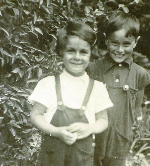צעירים כילדים. אילת עם לאה רבין (צילום: דוד (דדה) עינב) (צילום: דוד (דדה) עינב)