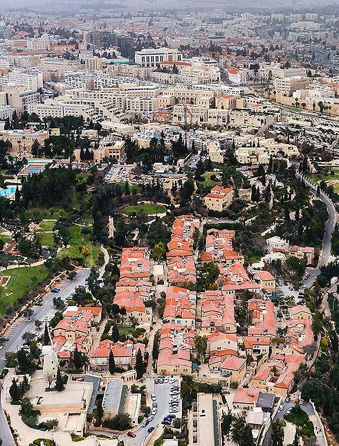 שכונת ימין משה בירושלים (צילום: ישראל ברדוגו )