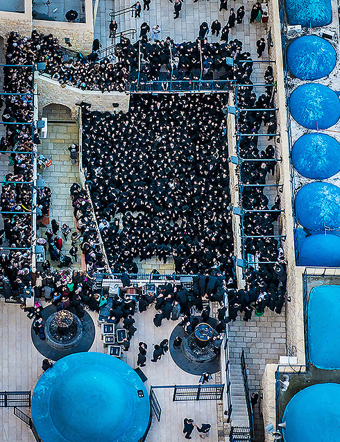 מתחם קברי רבי שמעון בר יוחאי ורבי אלעזר בנו (צילום: ישראל ברדוגו ) (צילום: ישראל ברדוגו )