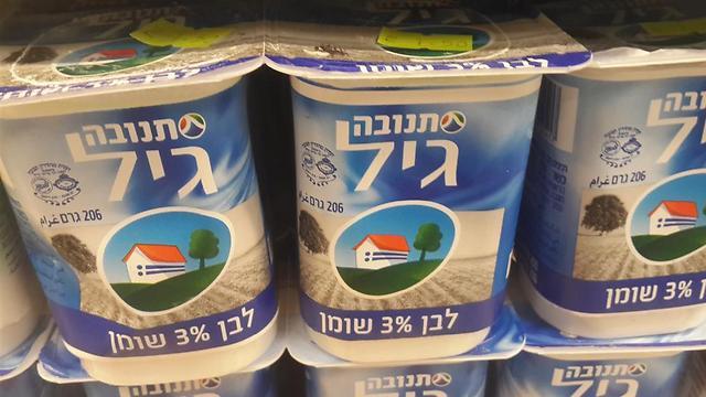 מקום רביעי ברשימת המוצרים הכי נמכרים של תנובה, אחרי חלב בשקית 3%, חלב בקרטון 3% וקוטג' 5% (צילום: מירב קריסטל) (צילום: מירב קריסטל)