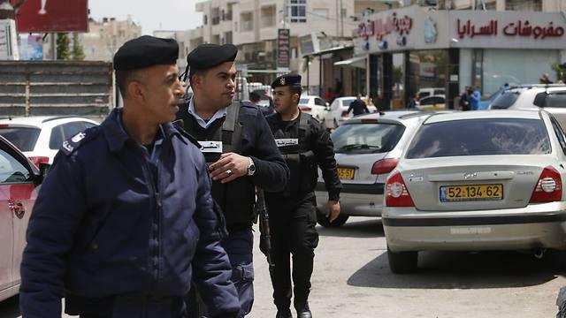 Palestinian police on patrol  (Photo: AP)