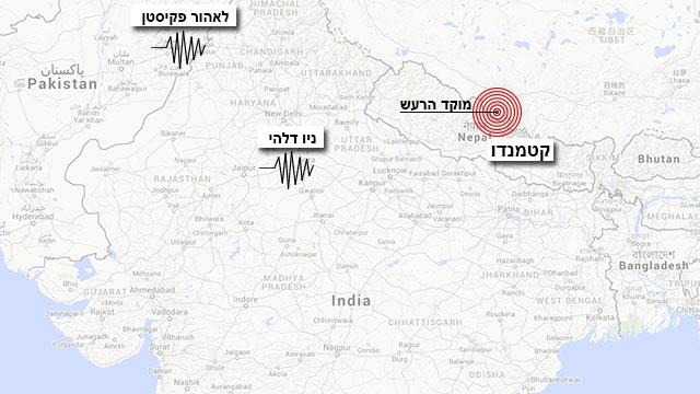 אזורי הרעש (צילום: google maps)