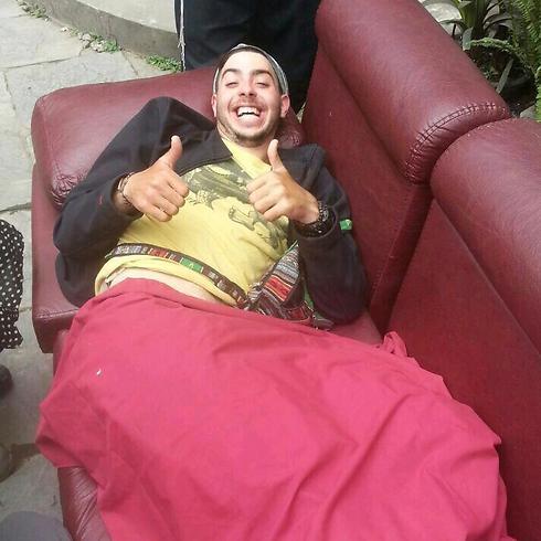 הפצוע הישראלי. סובל מחתכים ()