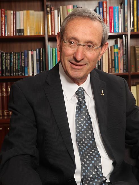פרופ' מנחם בן ששון, נשיא האוניברסיטה העברית (צילום: יורם אשהיים)