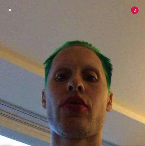 ג'ארד לטו ירוק השיער (מתוך טוויטר) (מתוך טוויטר)