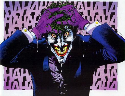 הג'וקר מתוך הקומיקס (עטיפת הקומיקס) (עטיפת הקומיקס)