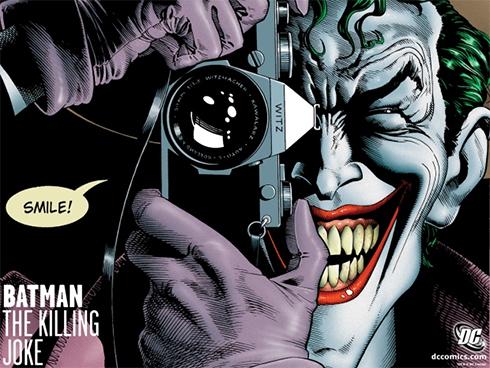 """מתוך שער הקומיקס """"The Killing Joke"""" (עטיפת הקומיקס) (עטיפת הקומיקס)"""