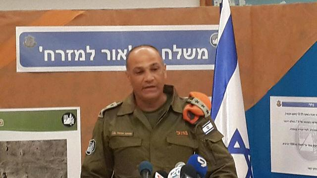 Operation 'Light to the East' head - Colonel Yoram Lerdo  (Photo: Roi Yanovski)