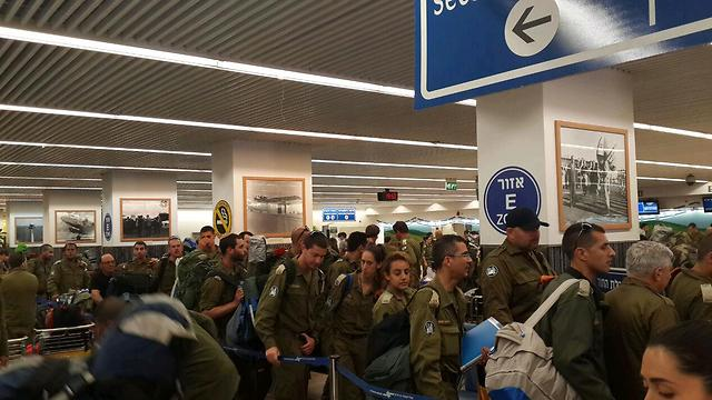 IDF mission takes off (Photo: Roi Yanovski)