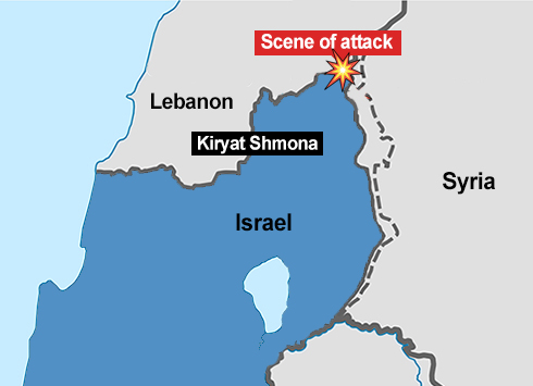 Map of Sunday's attempted terror attack
