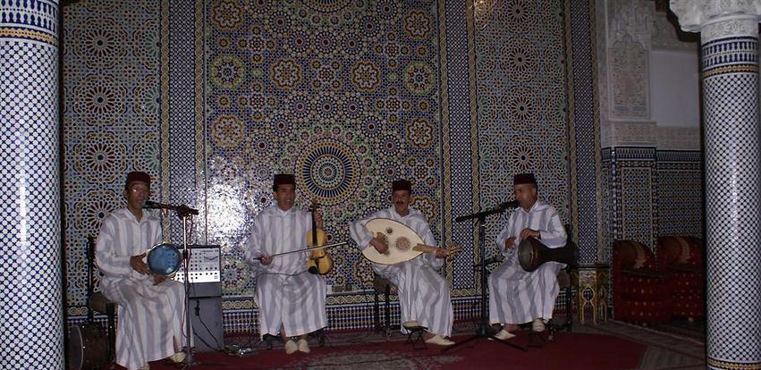 להקה מקומית במרקש (צילום: אלפרד תאומים)