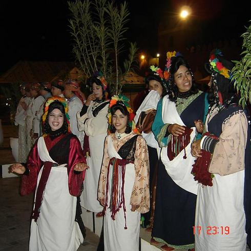 להקת בנות במרקש (צילום: ויקטור מאור) (צילום: ויקטור מאור)