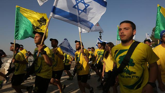 The Golani marathon. (Photo: Gil Yohanan)
