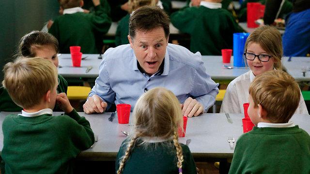 לא ישחזר את ההצלחה מהבחירות הקודמות. ניק קלג מהליברל דמוקרטים (צילום: AP)