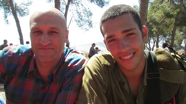 אור עם אביו פטריק ()