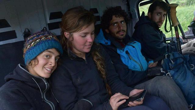 Israeli hikers rescued from Langtang region (Photo: Kathmandu Chabad House) (Photo: Kathmandu Chabad House )