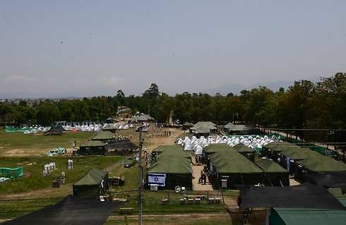 The IDF field hospital in Nepal. (Photo: IDF Spokesperson) (Photo: IDF Spokesperson)