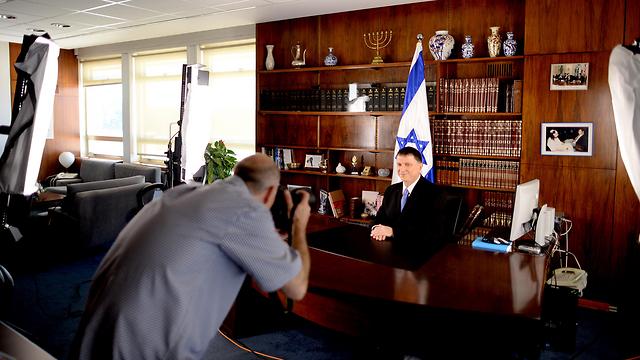 """יו""""ר הכנסת יולי אדלשטיין  (צילום: לע""""מ) (צילום: לע"""