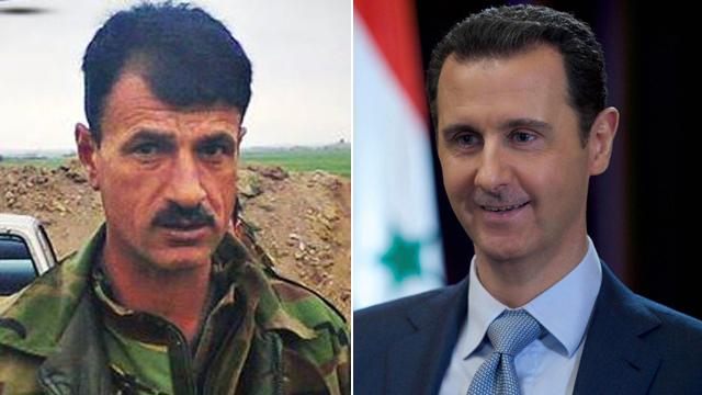Assad and 'The Tiger' (Photos: Reuters)