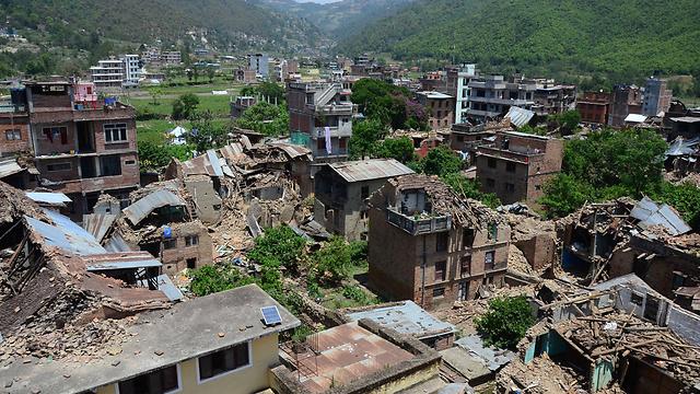 ההרס הגדול בקטמנדו (צילום: MCT) (צילום: MCT)