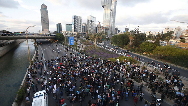 Ethiopians protesting racism (Photo: AFP)