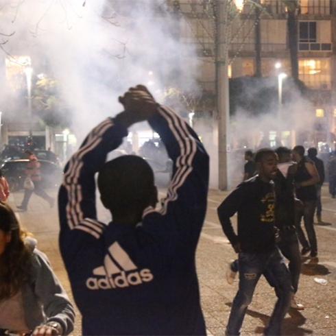 Protestors in Tel Aviv (Photo: Motti Kimchi)
