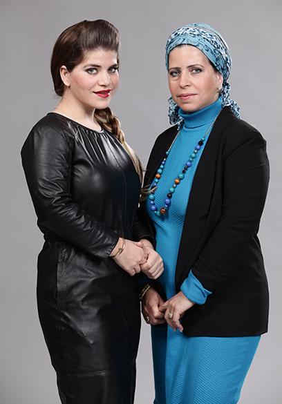 ג'קי אזולאי ומרים אלחרר (צילום: אלדד רפאלי)