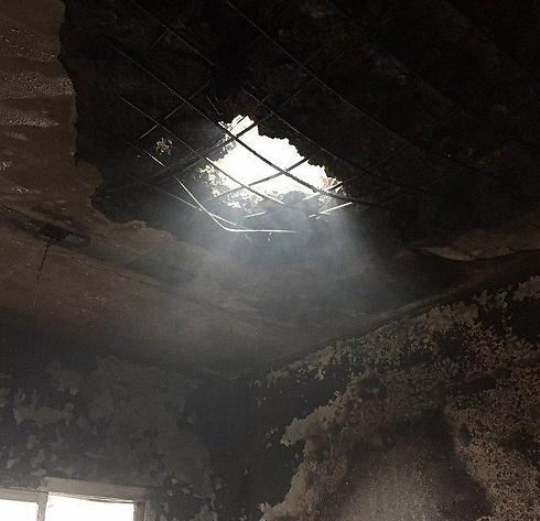 נזקי רקטות שירו המורדים השיעים בתימן, בני בריתה של איראן, לשטח סעודיה
