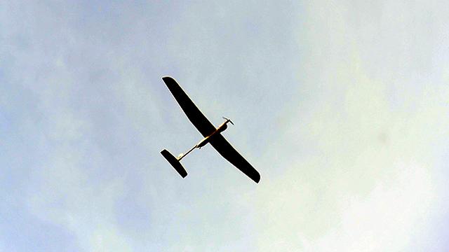 IDF drone (Photo: Haim Orenstein)