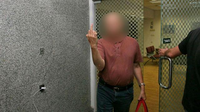 הרופא שנעצר בפרשה (צילום: עידו ארז) (צילום: עידו ארז)